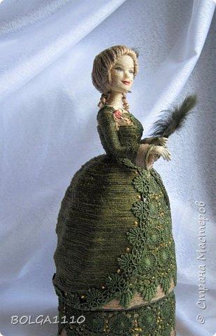 Шпагатная кукла-шкатулка . фото 3