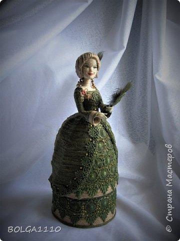 Шпагатная кукла-шкатулка . фото 1