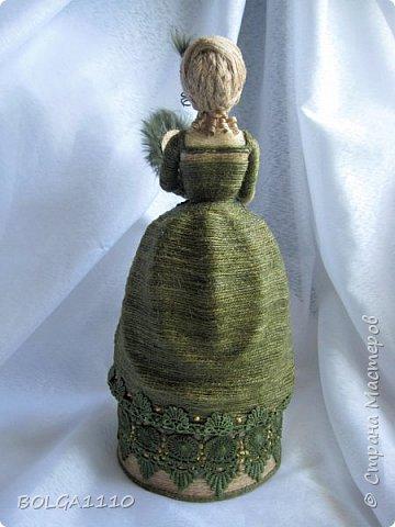 Шпагатная кукла-шкатулка . фото 5