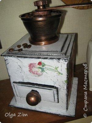 Декоративная кофемолка фото 2