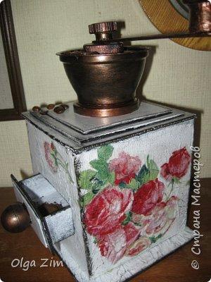 Декоративная кофемолка фото 1