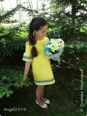Платье вышиванка фото 1