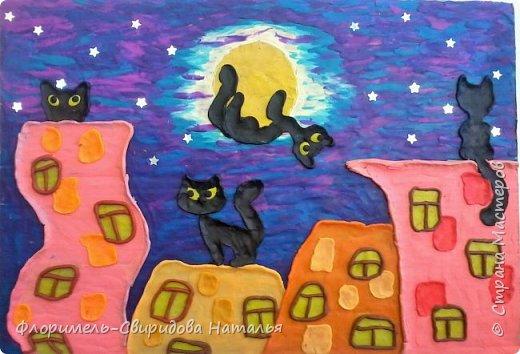 Кошачий бум (детские работы) фото 1