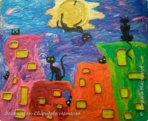 Кошачий бум (детские работы) фото 2