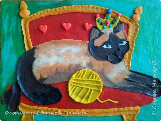 Кошачий бум (детские работы) фото 7