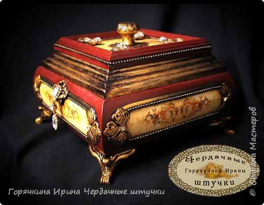 """Шкатулка """" Palace luxury"""" фото 1"""