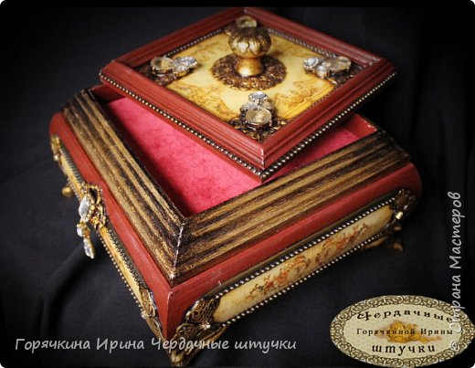 """Шкатулка """" Palace luxury"""" фото 11"""