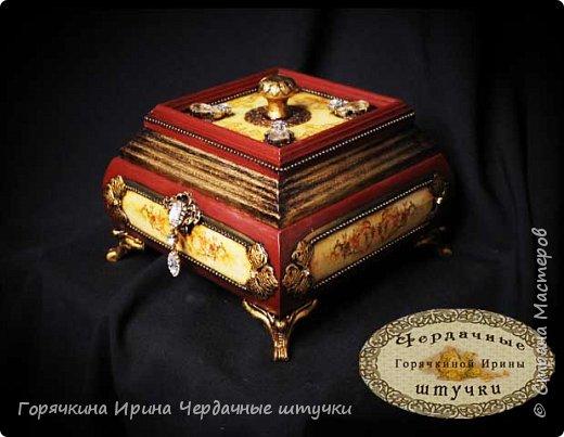 """Шкатулка """" Palace luxury"""" фото 2"""