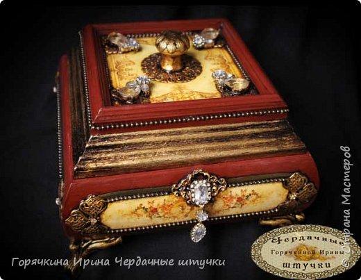 """Шкатулка """" Palace luxury"""" фото 3"""