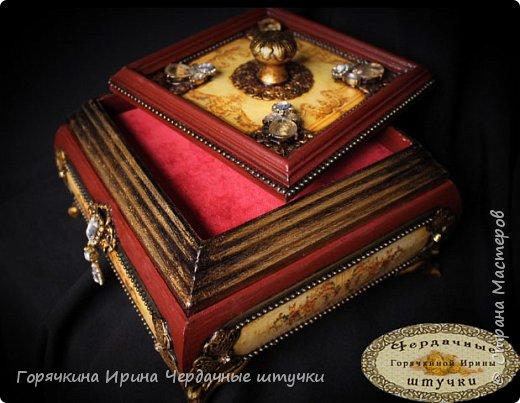 """Шкатулка """" Palace luxury"""" фото 6"""