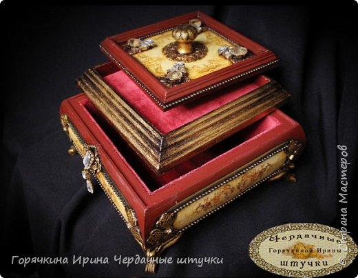 """Шкатулка """" Palace luxury"""" фото 7"""