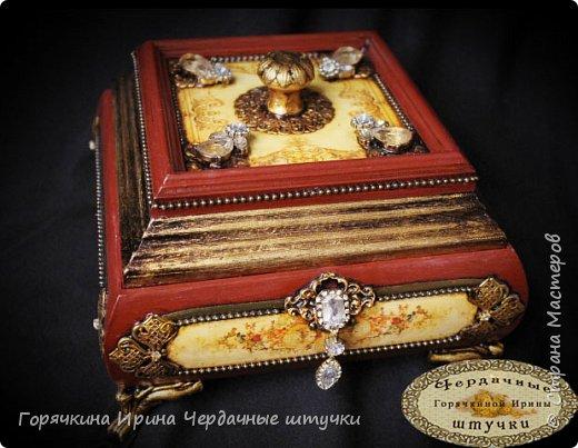 """Шкатулка """" Palace luxury"""" фото 9"""