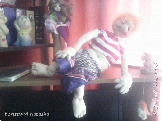 Новая картина и продолжение шитья кукол фото 2