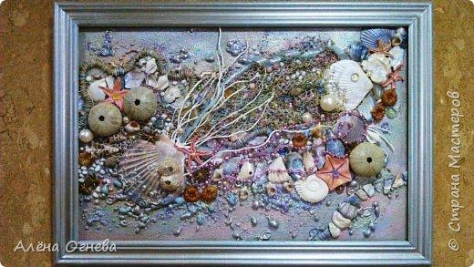 Тайны Морских Глубин 48х68 с багетом фото 4