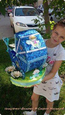 торт из памперсов в коляске фото 6