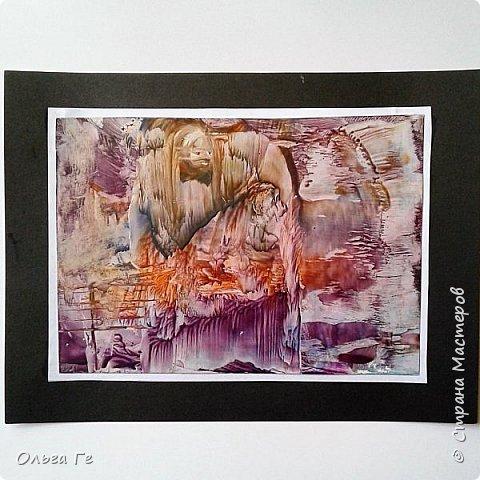 """Пробуюсь в живописи - """"Знойный закат""""  фото 2"""