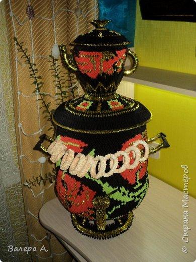 Живя в Тульской области, очень хотелось попробовать сделать самовар. Ну и конечно, какой самовар без чайника, кружки, подноса и естественно без баранок. фото 2