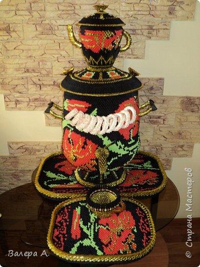 Живя в Тульской области, очень хотелось попробовать сделать самовар. Ну и конечно, какой самовар без чайника, кружки, подноса и естественно без баранок. фото 1