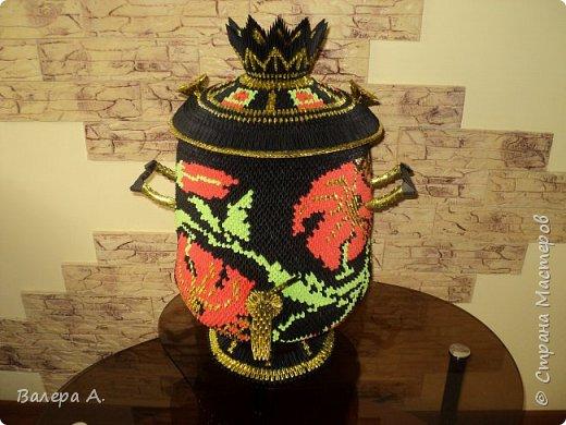 Живя в Тульской области, очень хотелось попробовать сделать самовар. Ну и конечно, какой самовар без чайника, кружки, подноса и естественно без баранок. фото 8