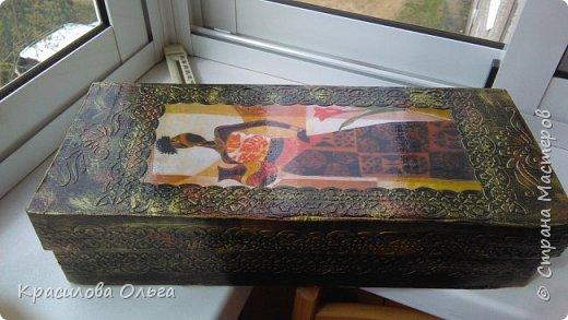 Вот такие коробочки ,хотелось попробовать что то метализированное состаренное фото 6