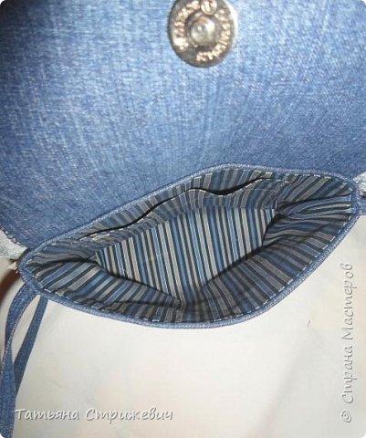 Джинсовая сумочка фото 5