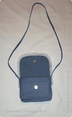 Джинсовая сумочка фото 3