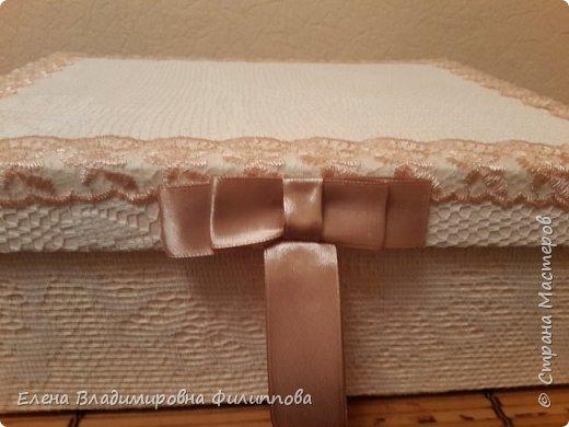Наконец то доделала коробку для тканевого альбома http://stranamasterov.ru/node/1097714. Не все получилось. Ну и ладно. фото 2