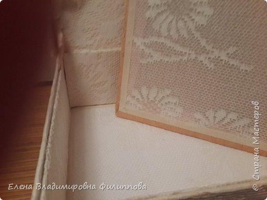 Наконец то доделала коробку для тканевого альбома http://stranamasterov.ru/node/1097714. Не все получилось. Ну и ладно. фото 6