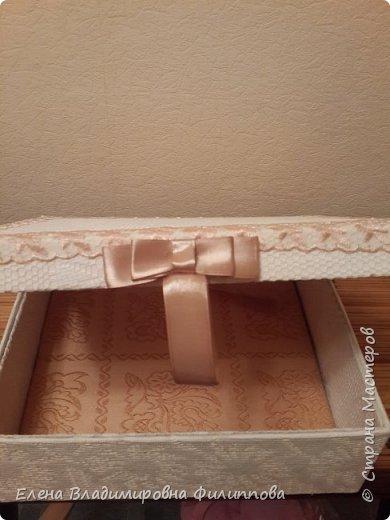 Наконец то доделала коробку для тканевого альбома http://stranamasterov.ru/node/1097714. Не все получилось. Ну и ладно. фото 7