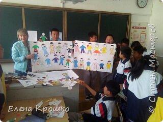 """Арт-проект «Дети планеты», на нашем сайте уже закончился, но я с огромным удовольствием использовала материалы нашего сайта в своей учебной поездке в китайскую школу по обмену. Проект """"Дети планеты"""" отправился в Китай в рамках учебного тура учащихся школы №14, г.Благовещенска Амурской области. фото 1"""