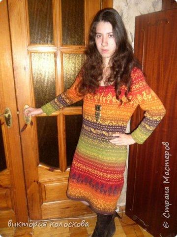 платье перуанка ( пряжа кауни -фестиваль) фото 1