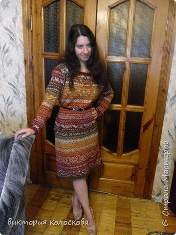 платье перуанка ( пряжа кауни -фестиваль) фото 2
