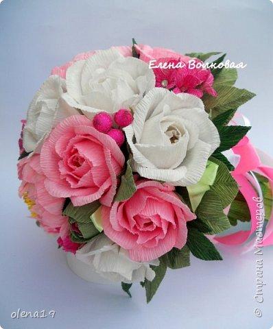 Сегодня покажу новый цветок для меня - пион. Корзинка с пионами. фото 9