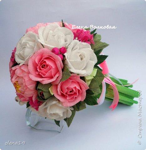 Сегодня покажу новый цветок для меня - пион. Корзинка с пионами. фото 13