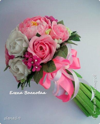 Сегодня покажу новый цветок для меня - пион. Корзинка с пионами. фото 12