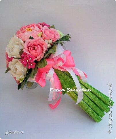 Сегодня покажу новый цветок для меня - пион. Корзинка с пионами. фото 11