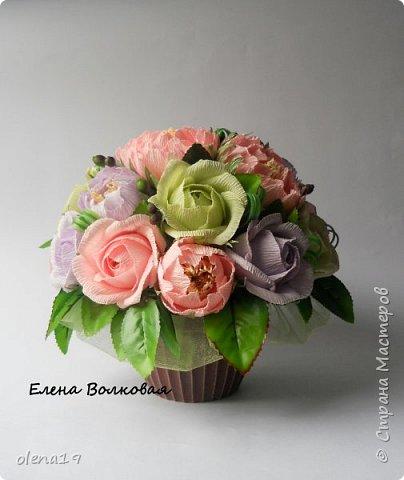Сегодня покажу новый цветок для меня - пион. Корзинка с пионами. фото 6