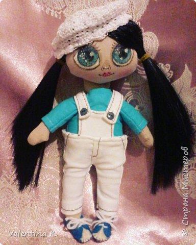 Здравствуйте!!! С недавних времён заболела шитьём кукол, как это интересно оказывается, каждая милашка получается такая разная со своим характером. Приятного всем просмотра и хорошего настроения, ведь скоро лето!!! фото 5