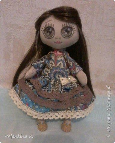 Здравствуйте!!! С недавних времён заболела шитьём кукол, как это интересно оказывается, каждая милашка получается такая разная со своим характером. Приятного всем просмотра и хорошего настроения, ведь скоро лето!!! фото 6