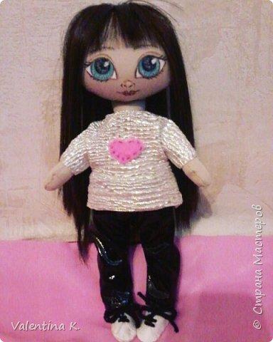 Здравствуйте!!! С недавних времён заболела шитьём кукол, как это интересно оказывается, каждая милашка получается такая разная со своим характером. Приятного всем просмотра и хорошего настроения, ведь скоро лето!!! фото 3