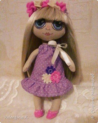 Здравствуйте!!! С недавних времён заболела шитьём кукол, как это интересно оказывается, каждая милашка получается такая разная со своим характером. Приятного всем просмотра и хорошего настроения, ведь скоро лето!!! фото 1