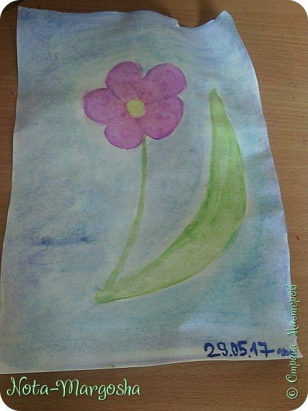 Здравствуйте жители СМ!  Сегодня я расскажу как нарисовать цветок в стиле дудлинг.  фото 2