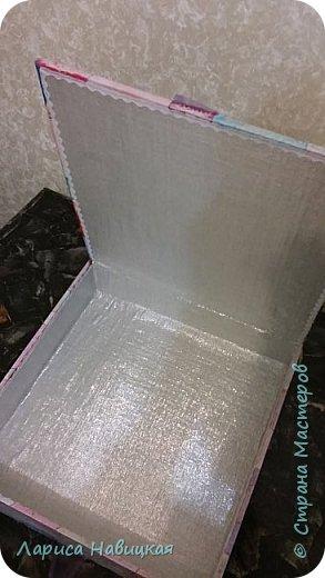 Альбом был готовый,я его немного приукрасила,коробку делала с нуля. фото 6