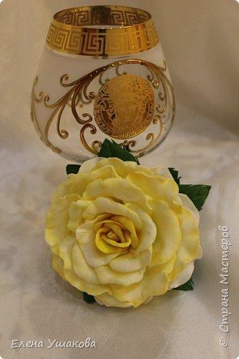 Розы из фоамирана фото 1
