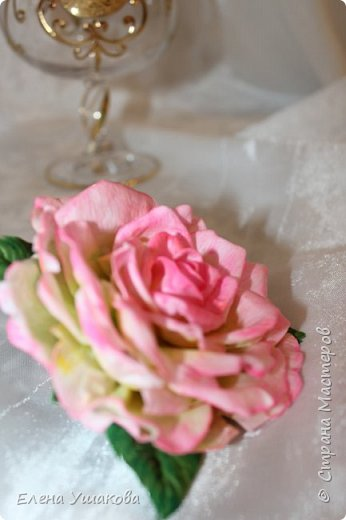 Розы из фоамирана фото 4