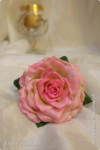 Розы из фоамирана фото 3