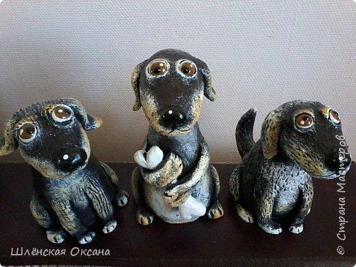 Доброго времени суток, Страна Мастеров!Вот такие собачки у меня получились,наверное их зовут Шарик,Бобик и Тузик. фото 7