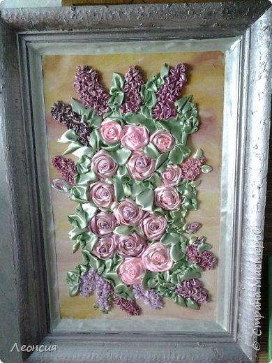 Сирень и розы. фото 1