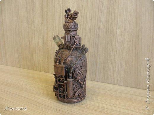 Бутылка сделана на заказ. фото 2