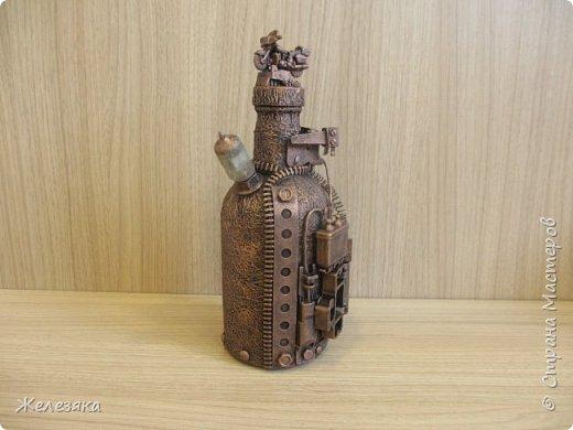 Бутылка сделана на заказ. фото 4